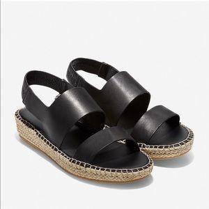 Cole Haan Cloudfeel Espadrille Sandal, Size 8